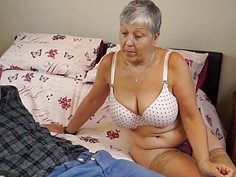 AGEDLOVE Granny Savana fucked with really hard sti