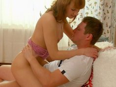 Hot sex video with shy blonde scene 1