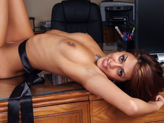 Lyla Storm & Mikey Butders in Naughty Office