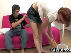 Mother Pounded By Step Son