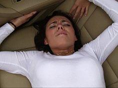 Backseat creampie madness