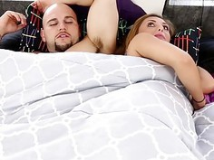 Kelly Green always want to suck Js big cock