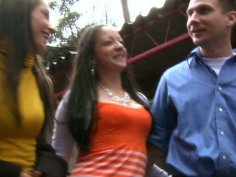 Cute chicks Lorena & Alexandra are pros in pleasing a man