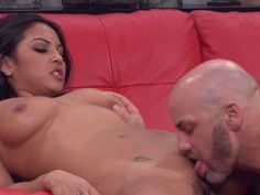 Sexy Latina gets her big ass slapped