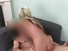 Shy princess sucking penis like model